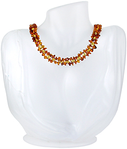 Baltic Amber Beads Necklace Art.ABA036