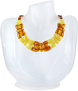 Baltic Amber Beads Necklace Art.ABA020