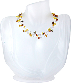 Baltic Amber Beads Necklace Art.ABA057