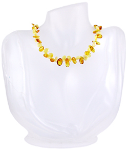 Baltic Amber Beads Necklace Art.ABA062