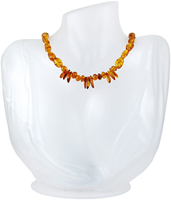 Baltic Amber Beads Necklace Art.ABA092