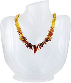Baltic Amber Beads Necklace Art.ABA054