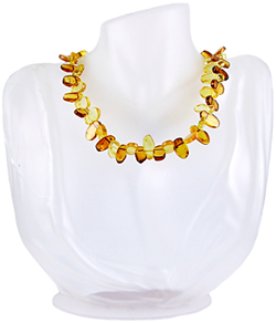 Baltic Amber Beads Necklace Art.ABA067