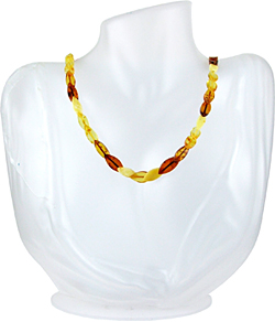 Baltic Amber Beads Necklace Art.ABA089