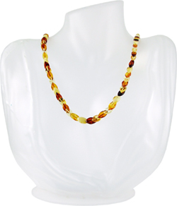 Baltic Amber Beads Necklace Art.ABA088