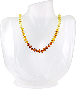 Baltic Amber Beads Necklace Art.ABA091a