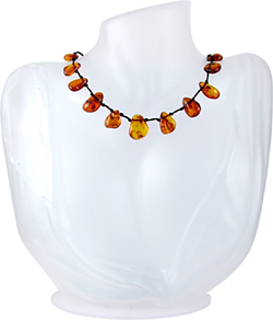 Baltic Amber Beads Necklace Art.ABA061