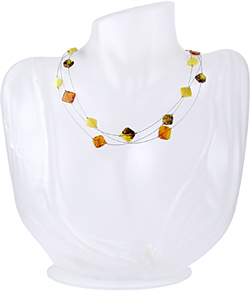 Baltic Amber Beads Necklace Art.ABA056